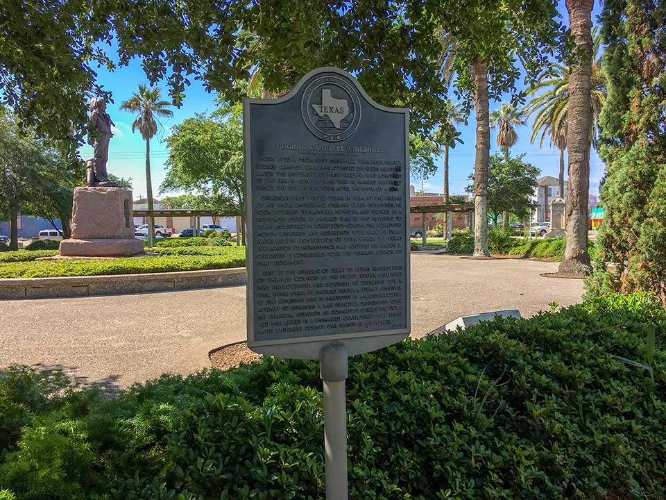 George Campbell Childress Historical Marker
