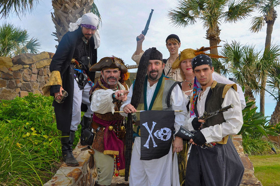 Group of Pirates
