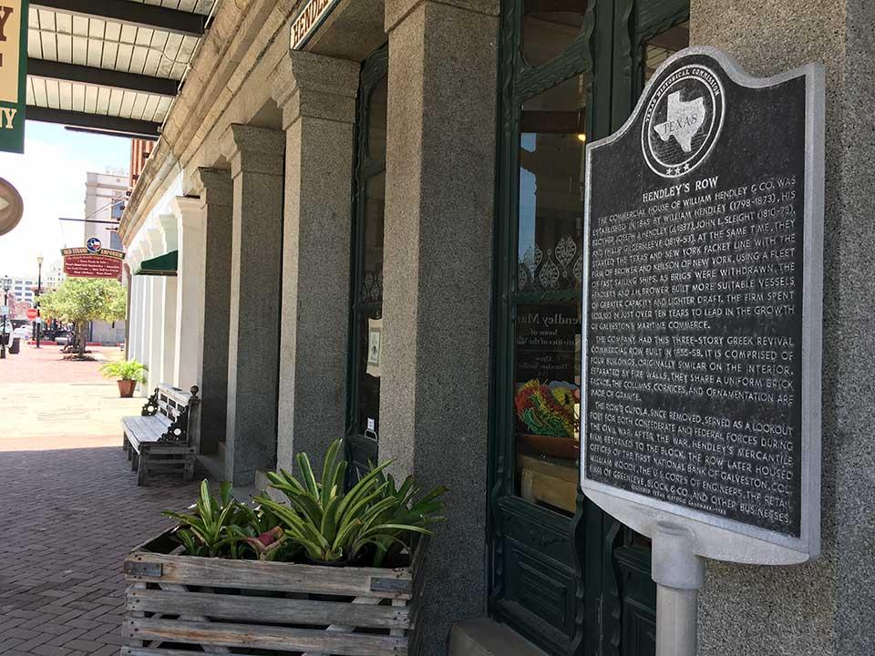 Hendleys Row Historical Marker