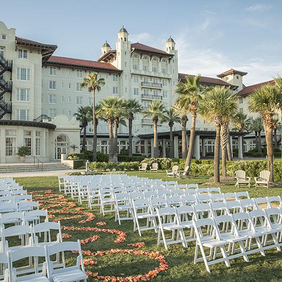 Hotel Galvez Centennial Green