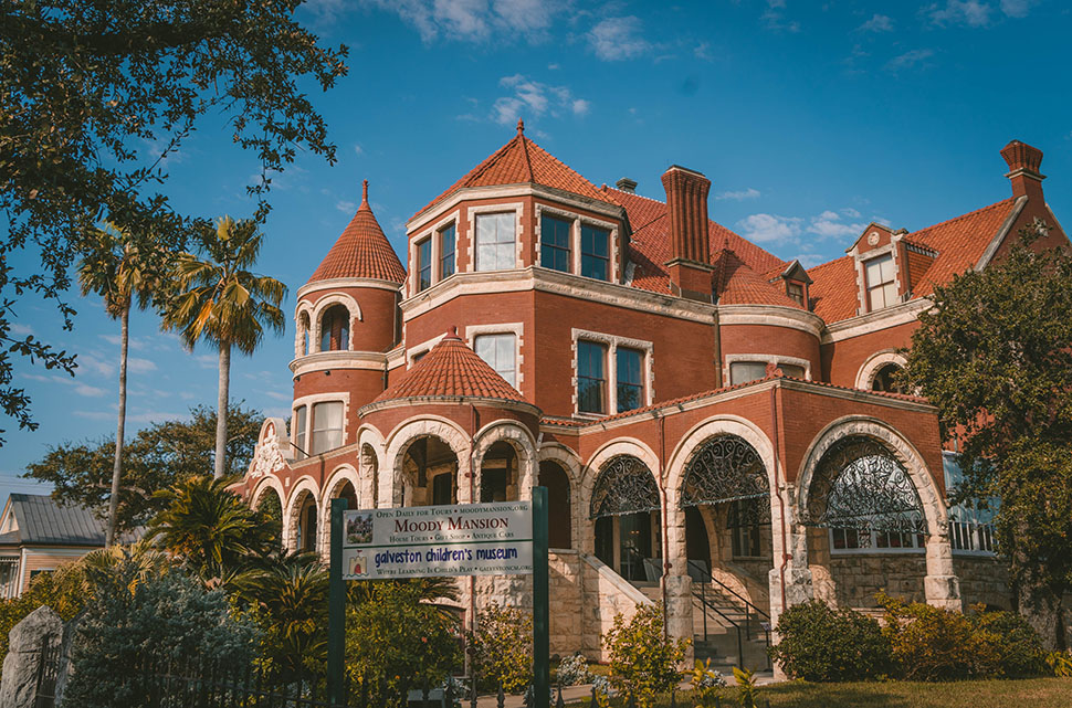 5. Tour the 1895 Moody Mansion