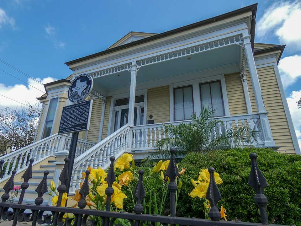 Quigg Baulard Cottage Historical Marker