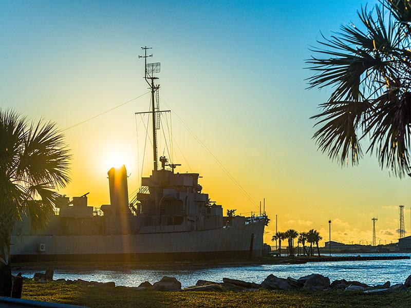 SS Stewart on Pelican Island