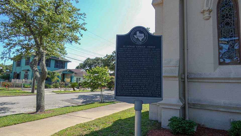 St Patrick Catholic Church Historical Marker