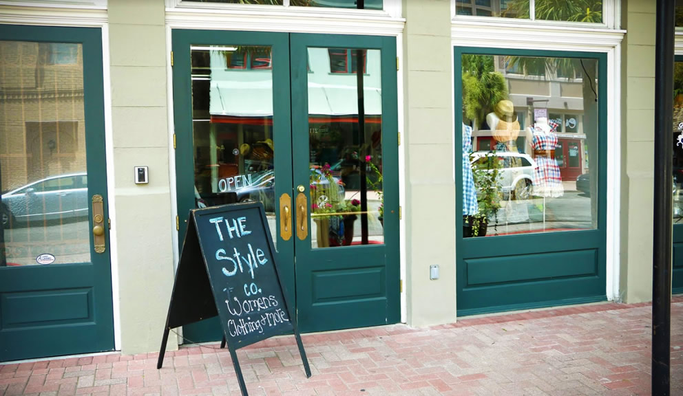 Style Co. Front-Door Exterior, Galveston TX