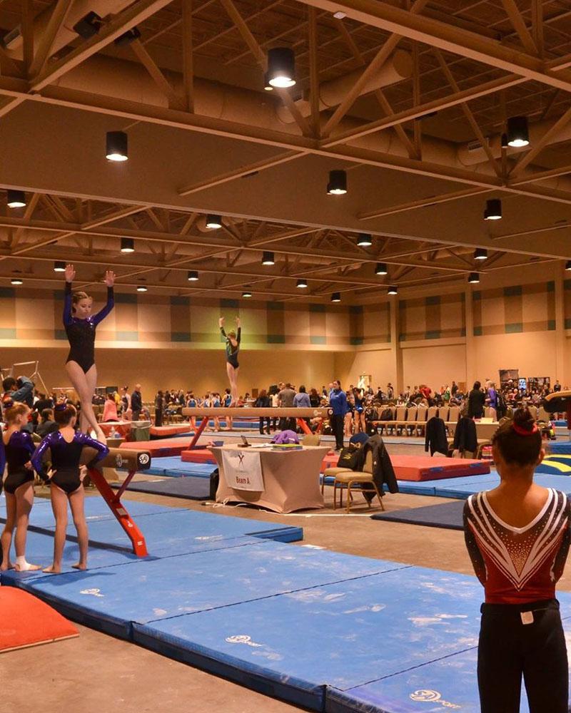 USA Gymnastics at Convention Center