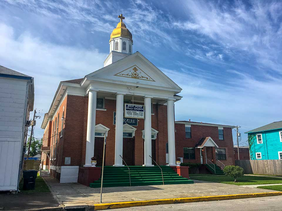 West Point Baptist Church Historical Marker