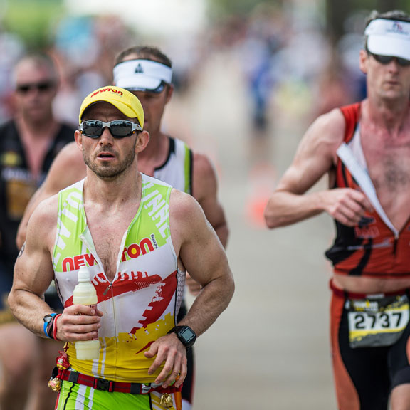 Runners in Ironman Competition, Galveston, TX