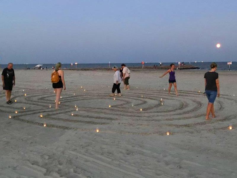 Beach Labyrinth