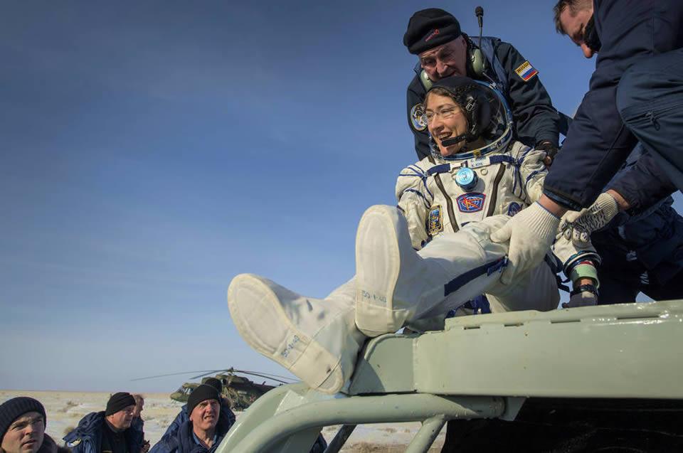Astronaut Christina Koch