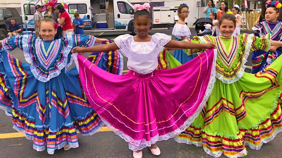 Colorful Dresses at The Grand Kids Festival