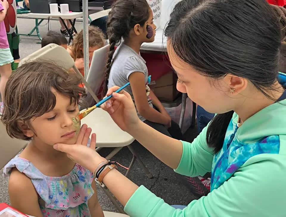 Grand Kids Festival Face Painting
