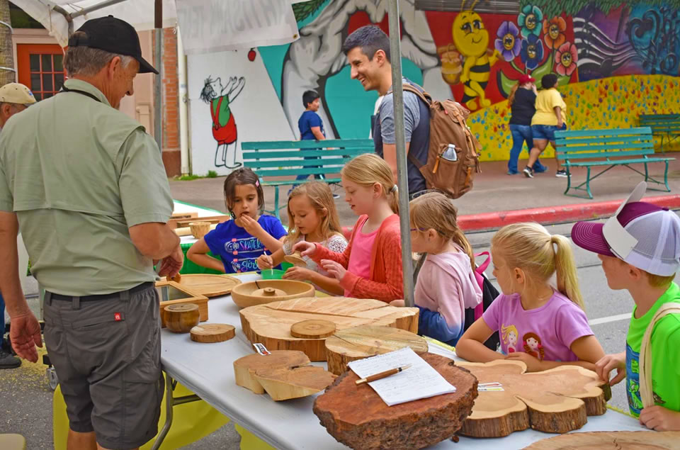 Wood Crafts at The Grand Kids Festival