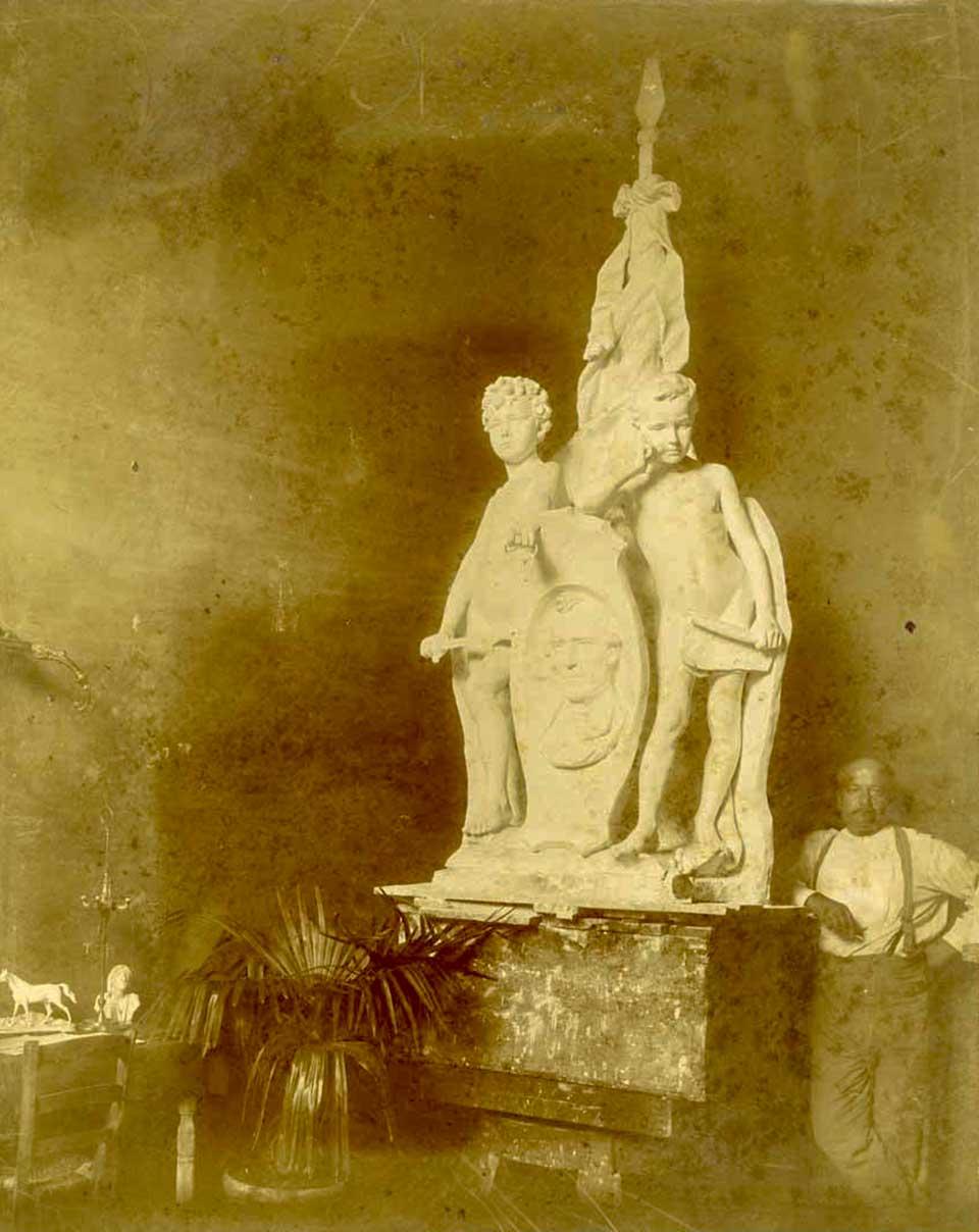 Louis Amateis Texas Heroes Monument