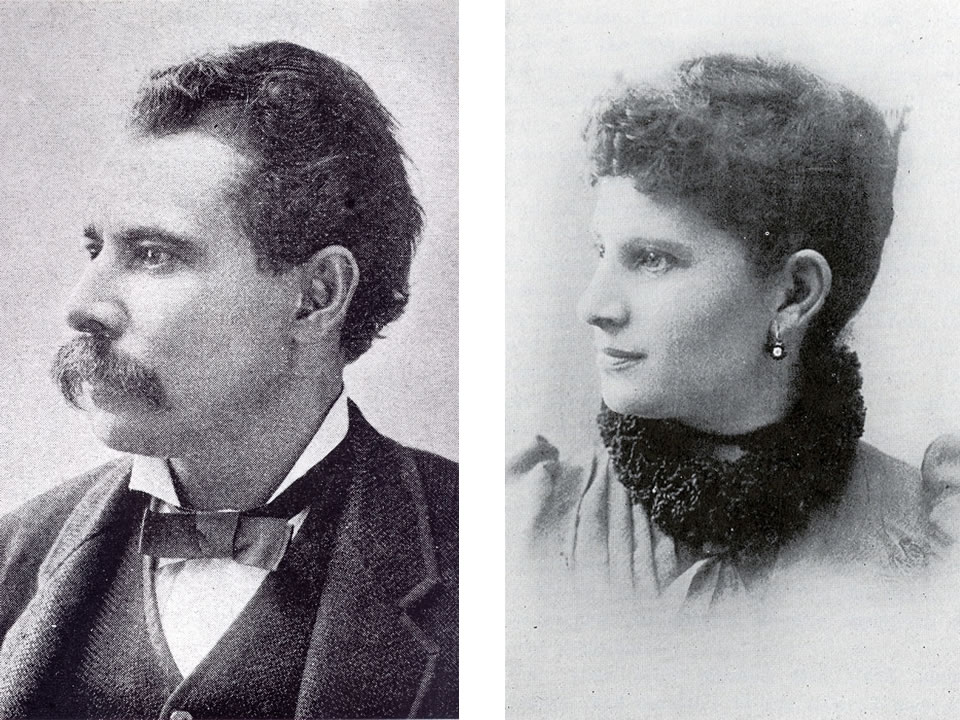 Norris Wright Cuney and Wife