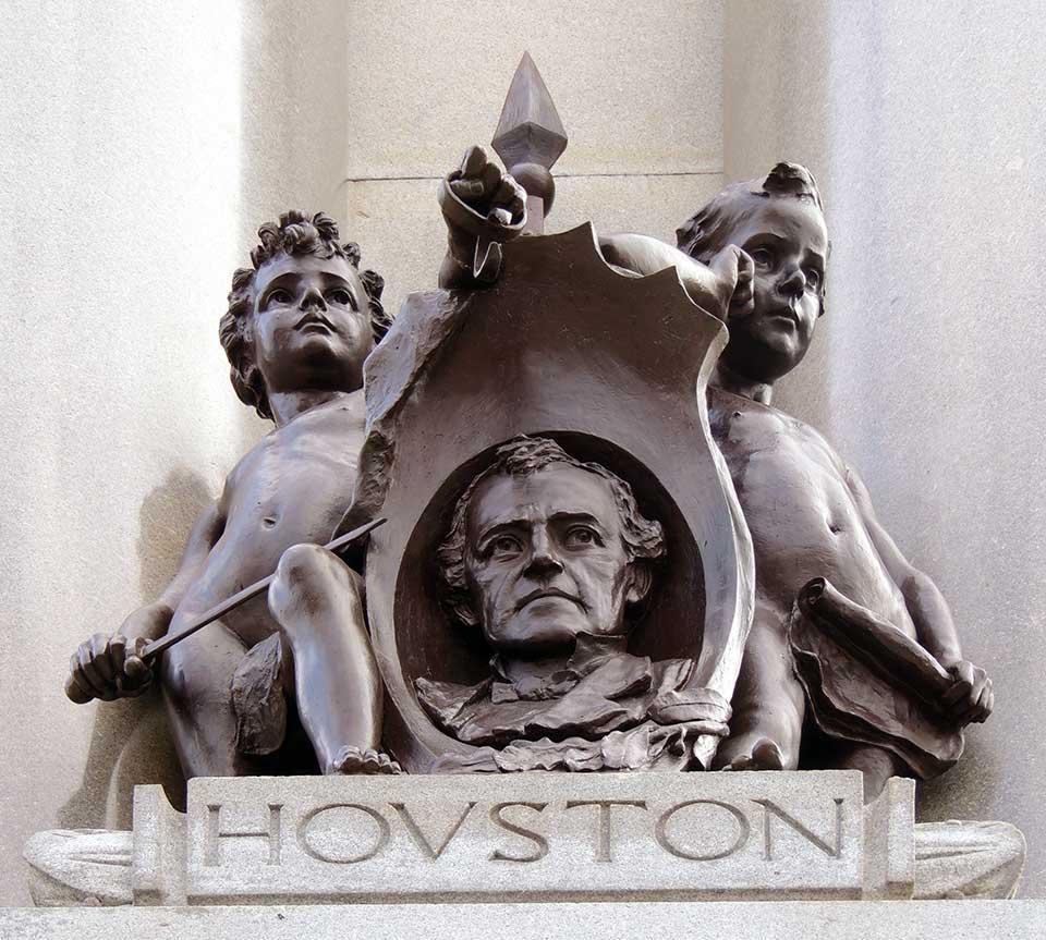 Sam Houston Patriotism Texas Heroes Monument