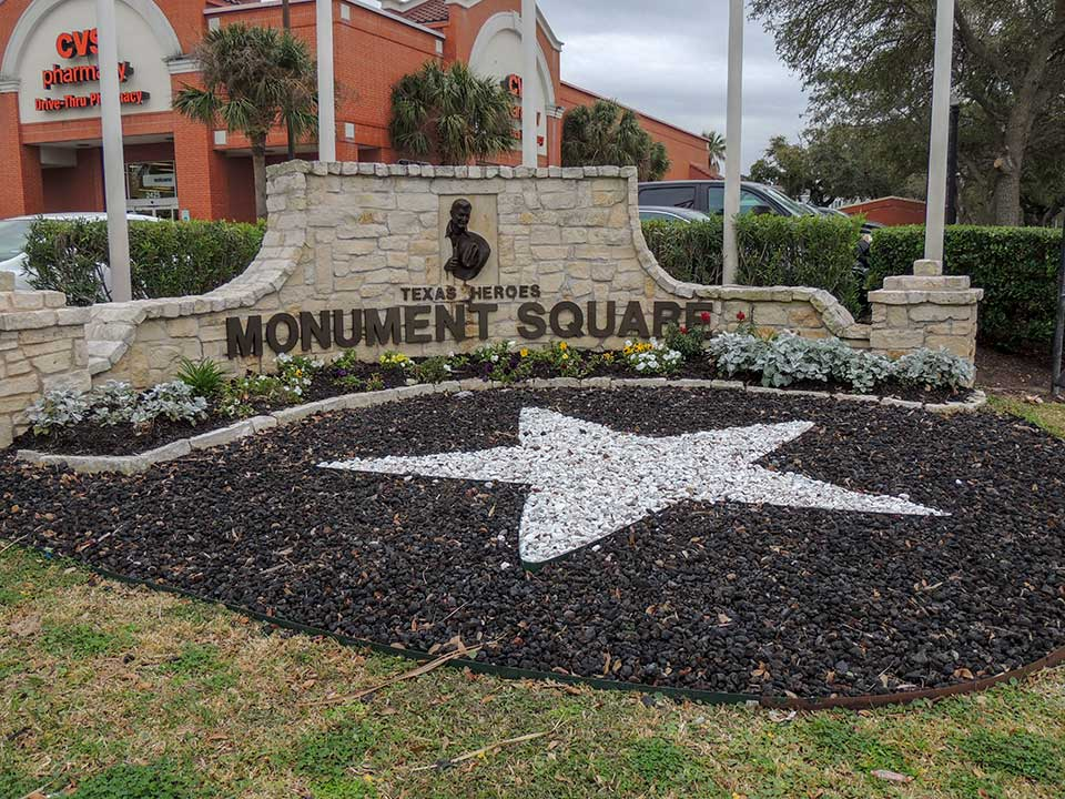 Texas Heroes Monument Square