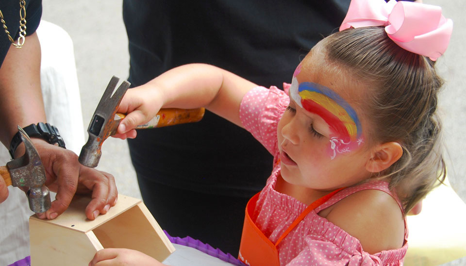 Children's Workshop at The 25th Annual Grand Kids Festival