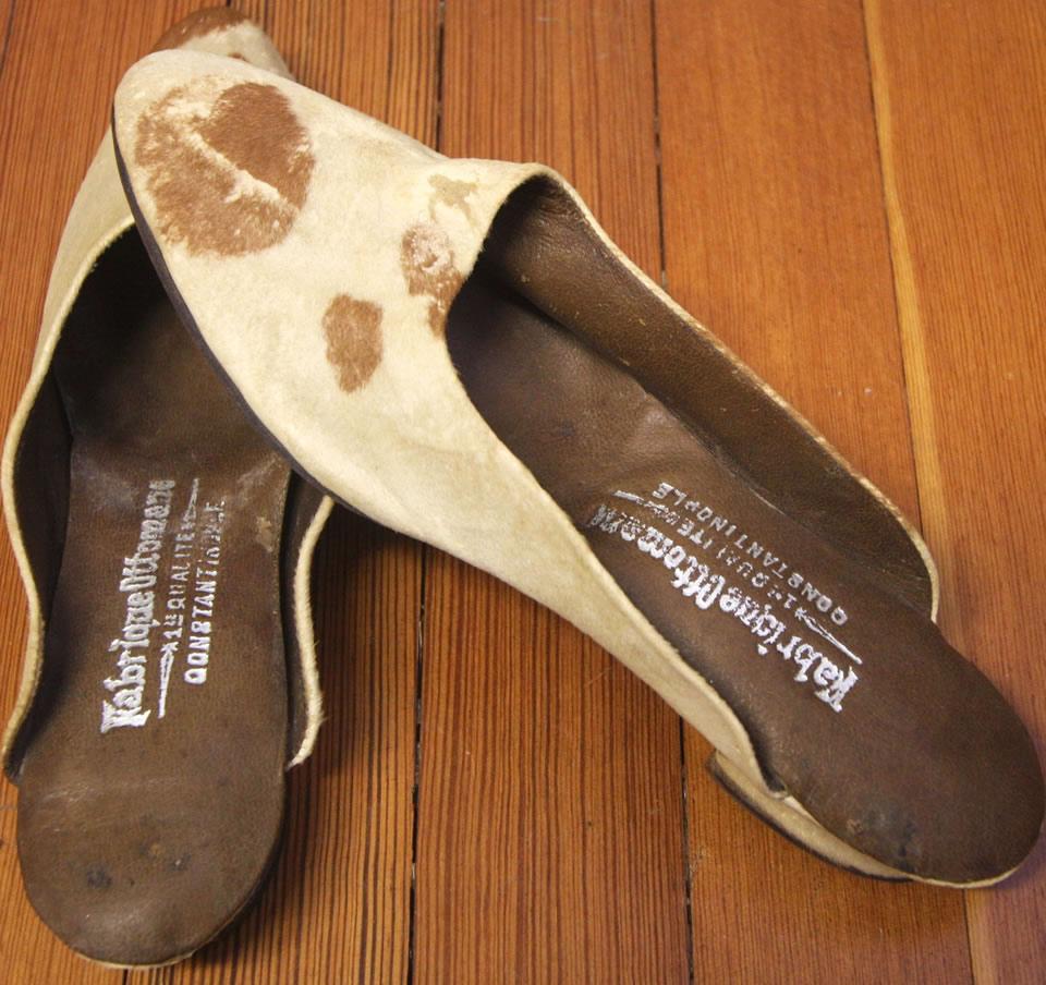 Bettie Brown, Turkish Slippers 1902