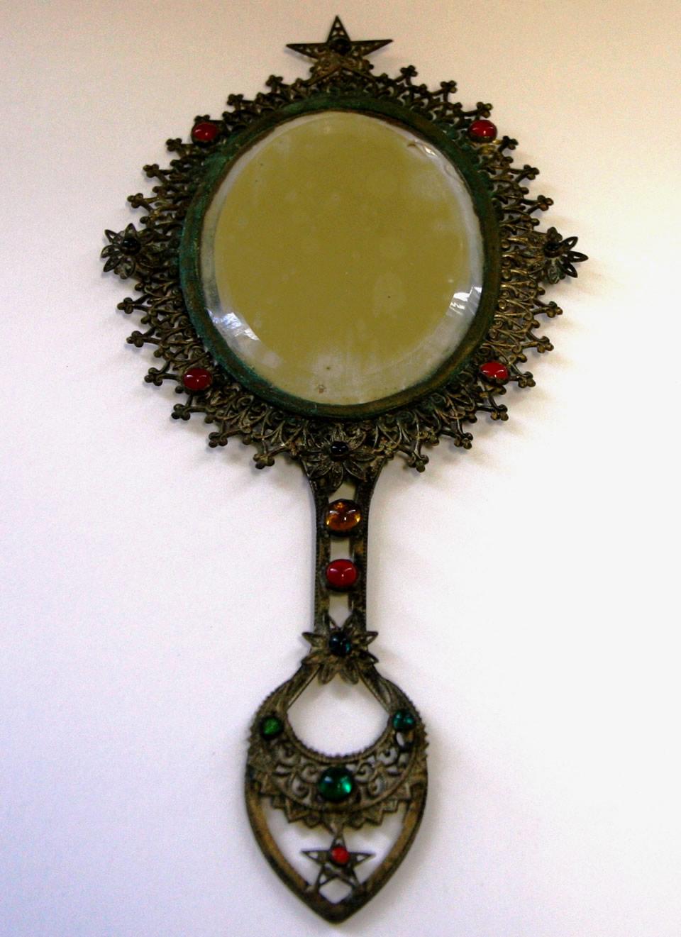 Turkish Hand Mirror, Bettie Brown
