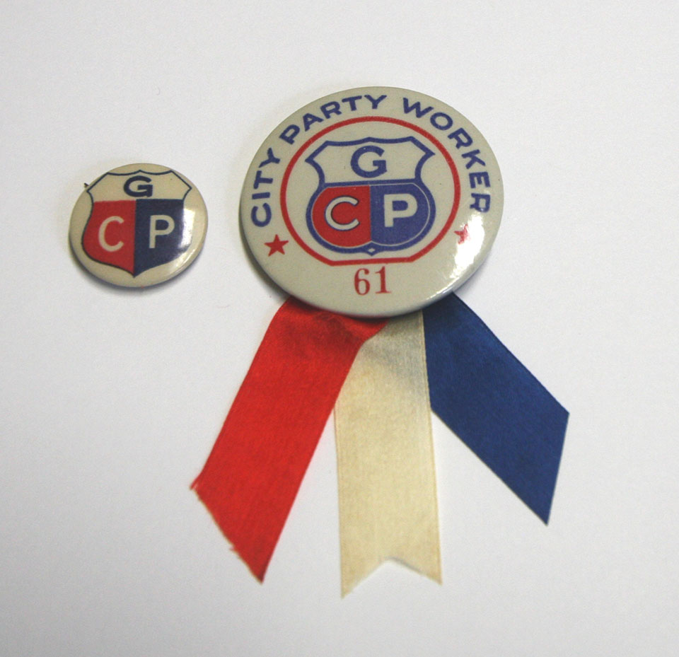 City Party Pin