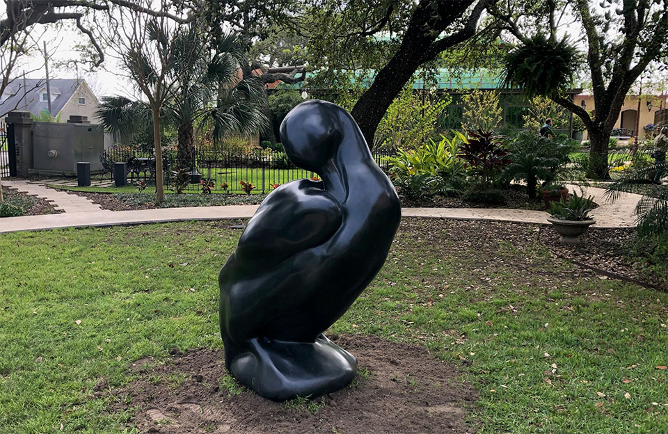 Labrador Duck Sculpture