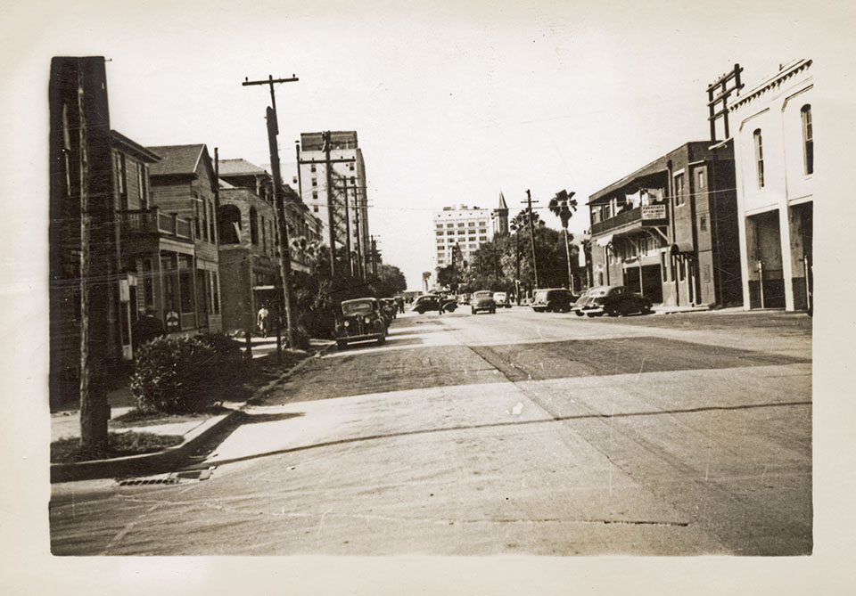 Downtown in 1943