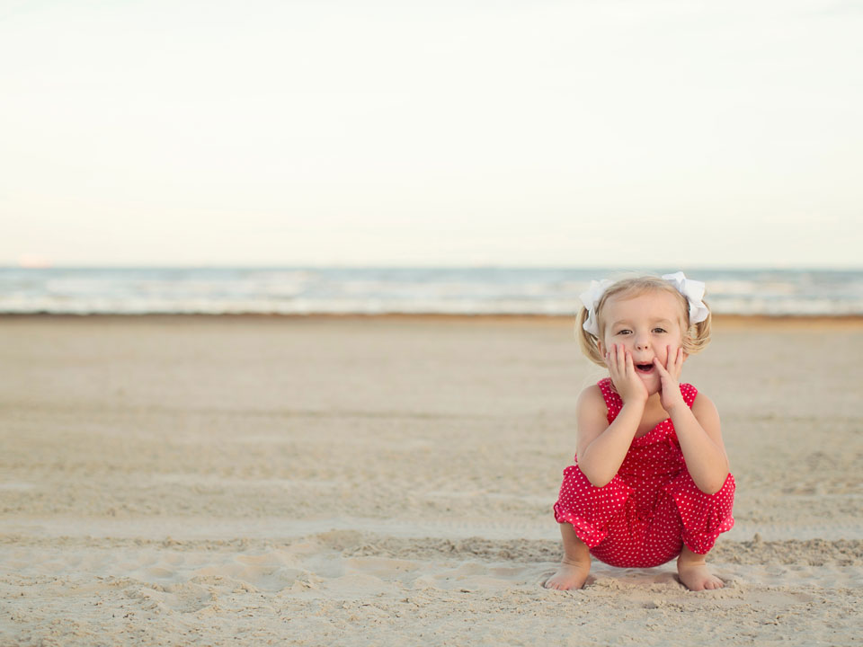 Young Toddler on the Beach