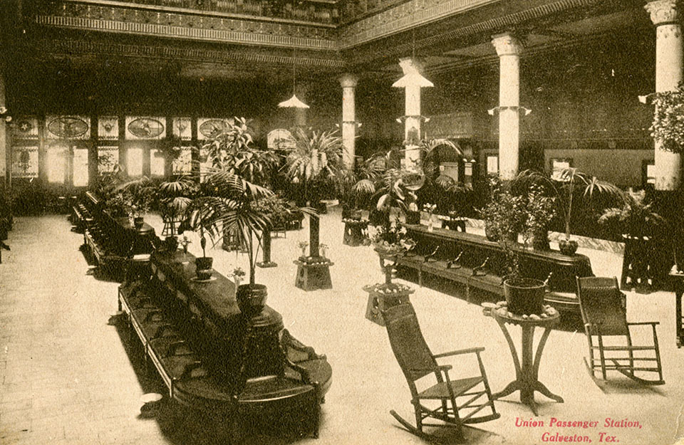 Union Depot Passenger Waiting Area