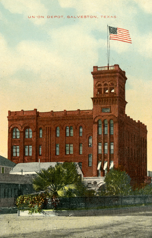 Union Depot Postcard