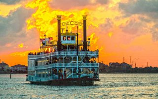 Colonel Paddlewheeler at Moody Gardens