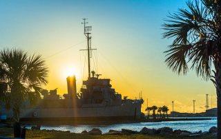 USS Stewart at Galveston Naval Museum