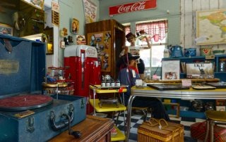 Downtown Galveston Antique Store