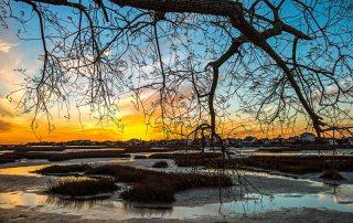 Sunset Over Galveston Bay