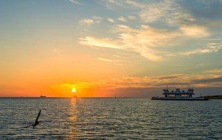 Bolivar Ferry at Sunrise