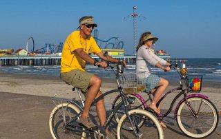 Biking the Seawall