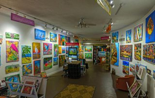 Downtown Galveston Art Gallery