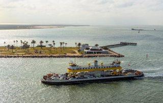 Bolivar Ferry Near Seawolf Park