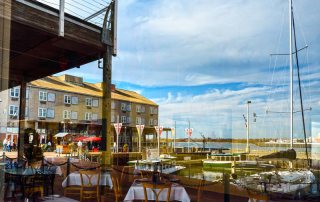 Waterfront Dining at Pier 21