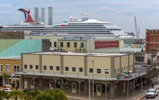 Cruise Ship Departing Galveston