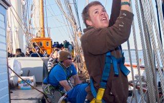 Volunteers Sail Tall Ship ELISSA