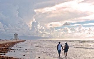Morning Beach Stroll