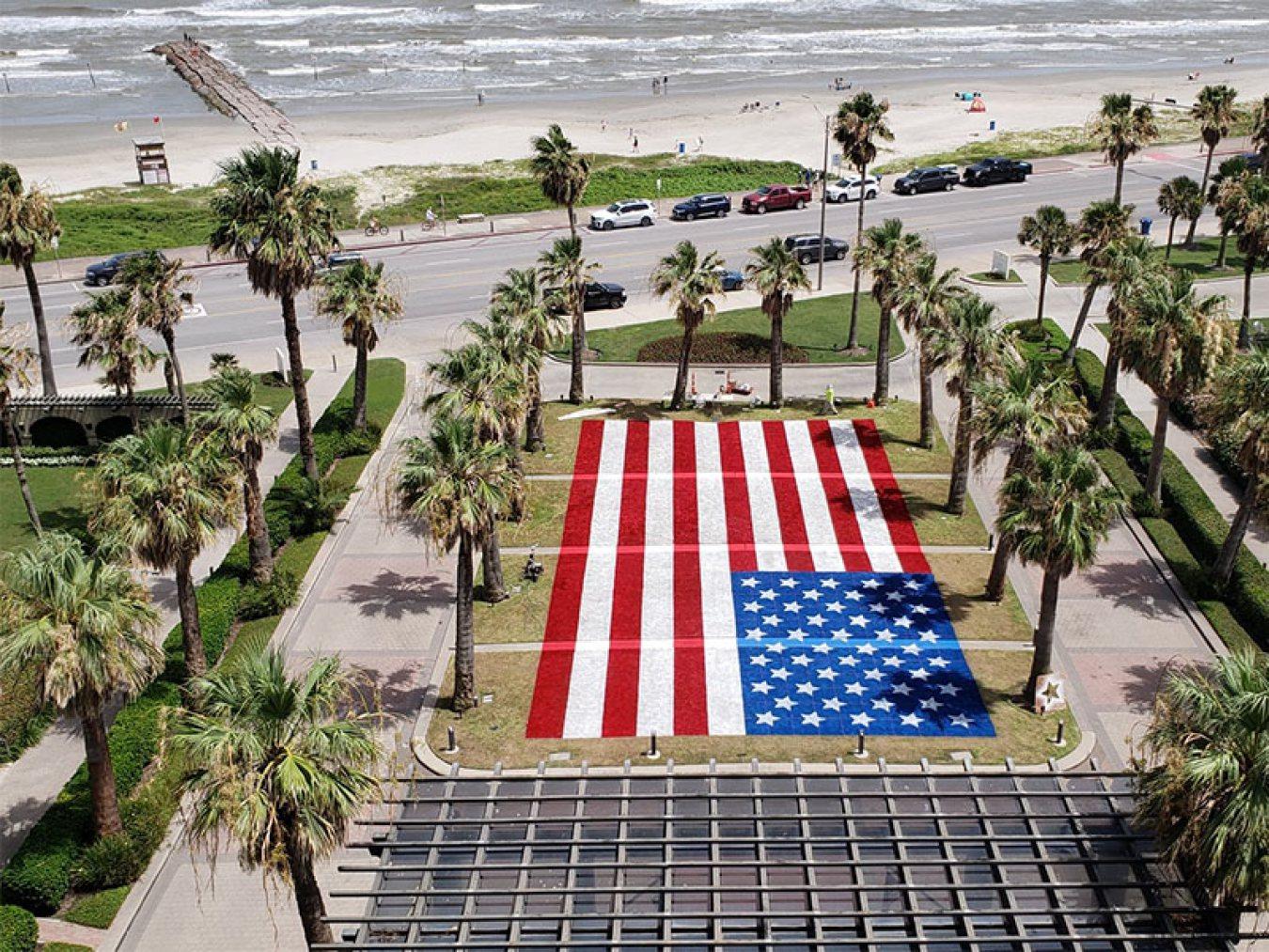 Hotel Galvez Flag