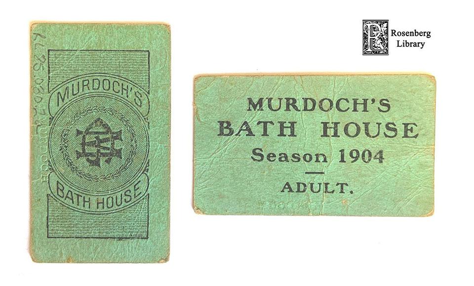 Tickets to Murdoch's Bathhouse