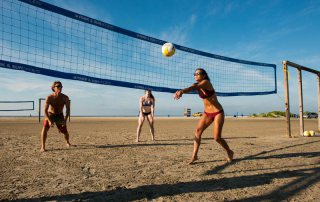 Volleyball at East Beach