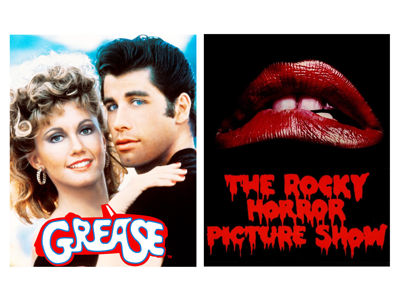 Grease & Rocky Horror Picture Show