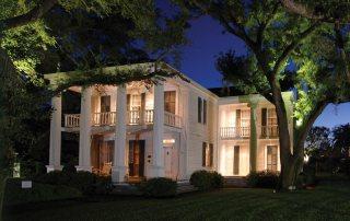 Menard House at Night