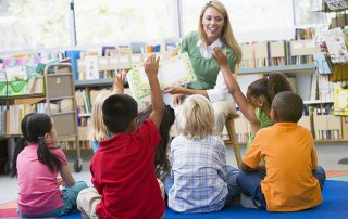 Elementary School Children in the Classroom