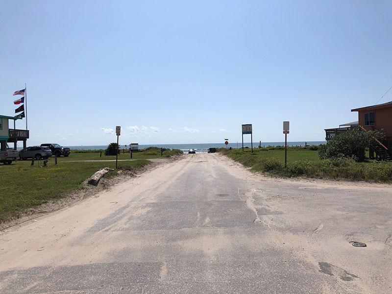 Beach Access Point 12 at Bermuda Beach - Pabst Road