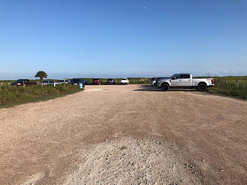 Beach Access Point 1A Gravel Parking Lot